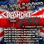 Crashdiet Tour