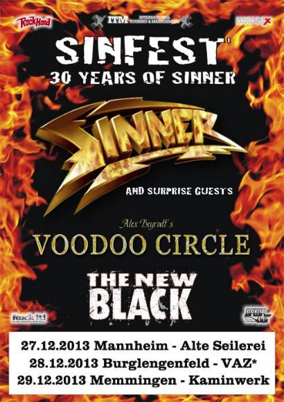 Sinner 30 Years