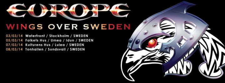 Europe Wings Over Sweden