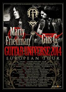Gus G Tour
