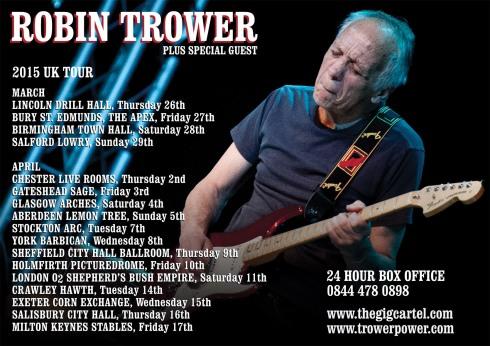 Robin Trower Tour 2015