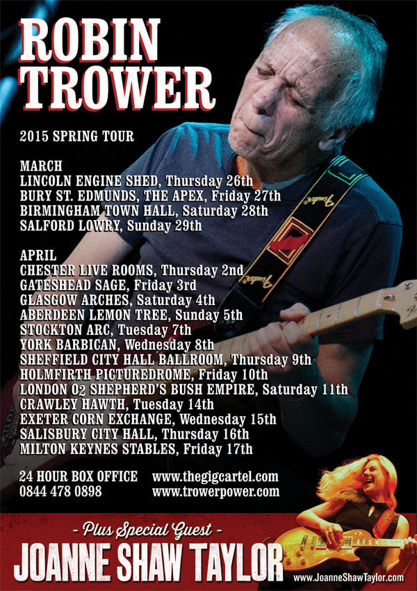 Robin Trower tour