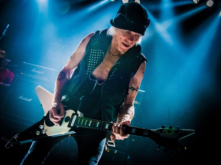 Michael Schenker. Photo Credit: © Laurence Harvey