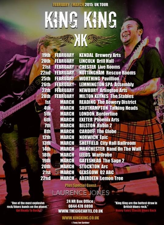 King King tour
