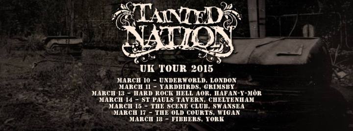 Tainted Nation tour 2015