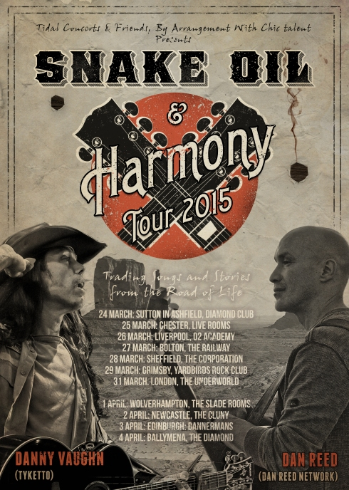Snake Oil & Harmony Tour