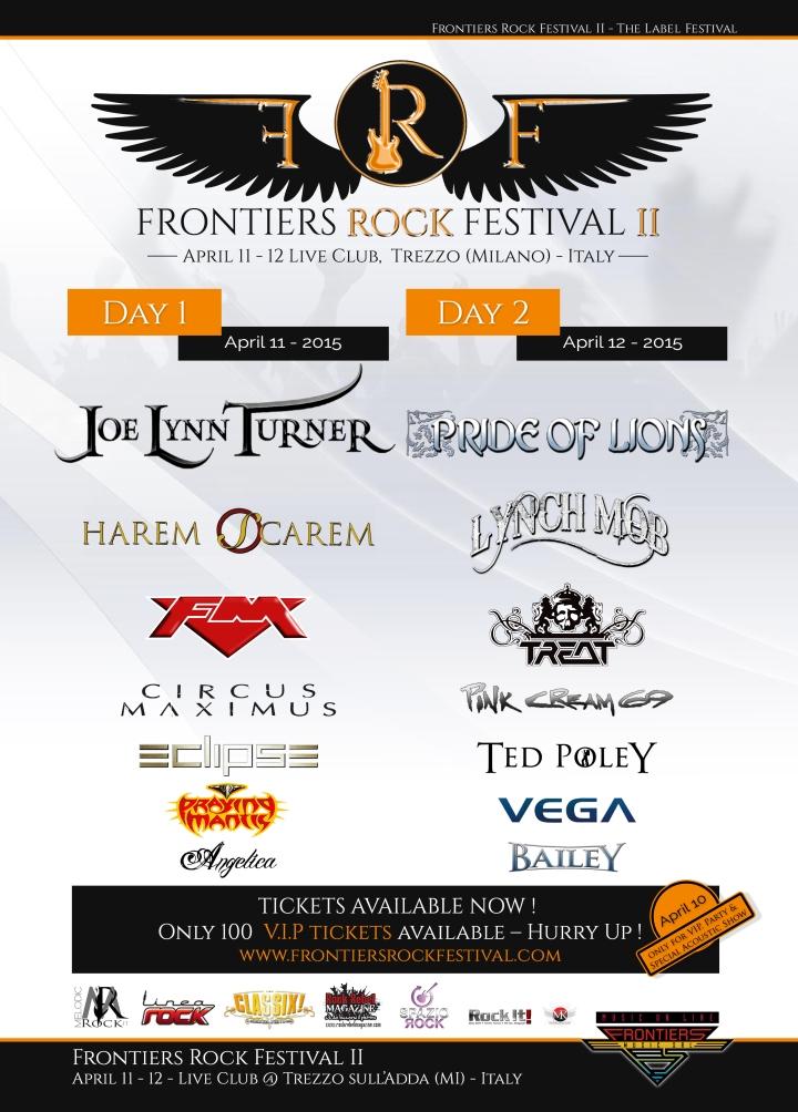 Frontiers Rock Festival II