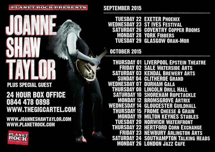 Joanne Shaw Taylor Tour Dates