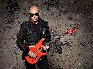 Joe Satriani photo credit - Larry Dimarzio
