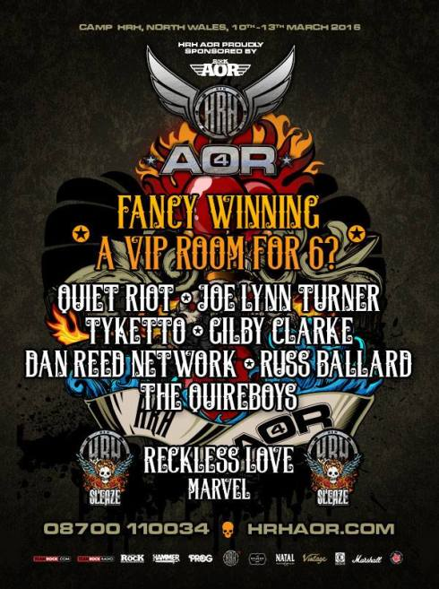 HRH AOR Competition