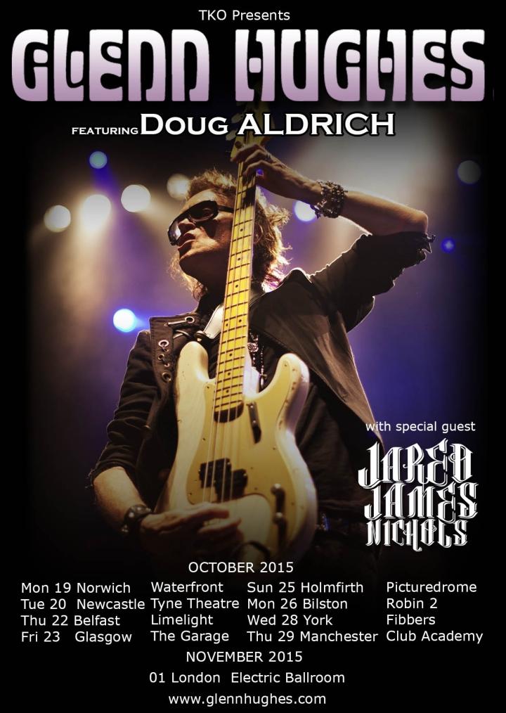 Glenn Hughes UK Dates 2015