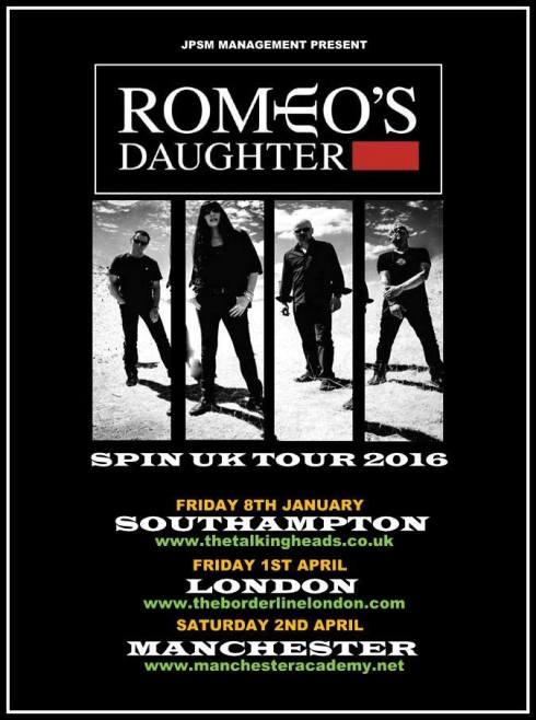 Spin UK Tour