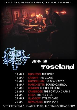 Colour Of Noise Tour Dates
