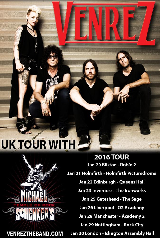 Venrez UK Tour