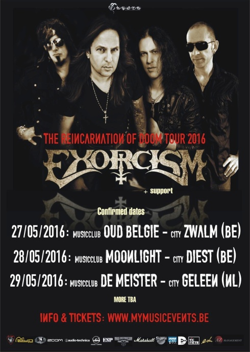 Exorcism tour dates
