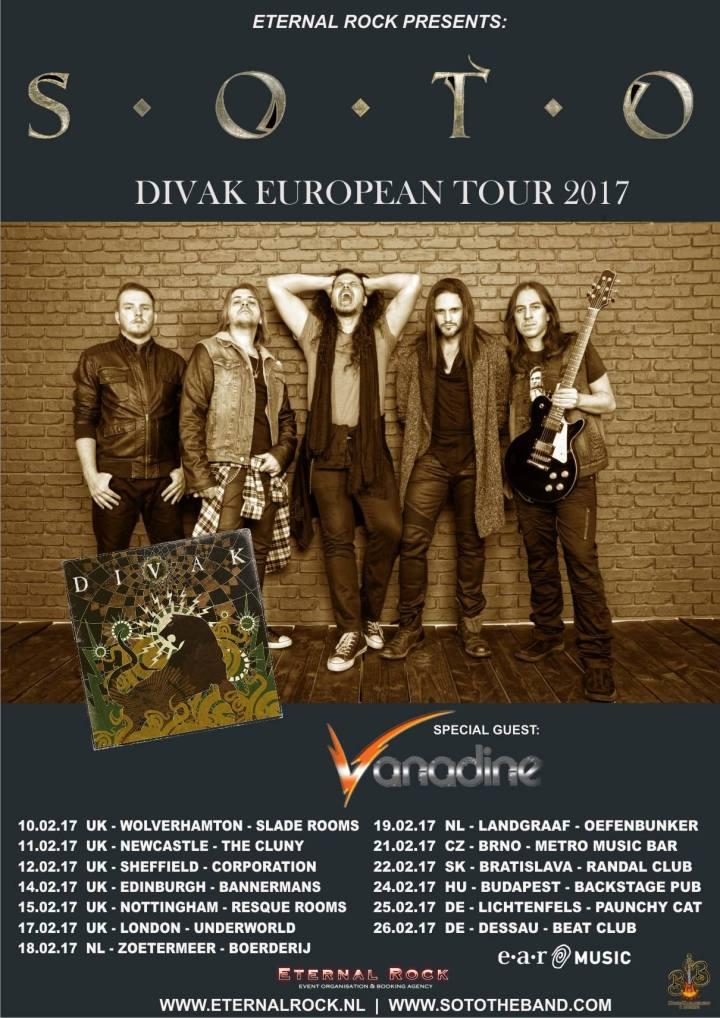 Divak Tour Dates