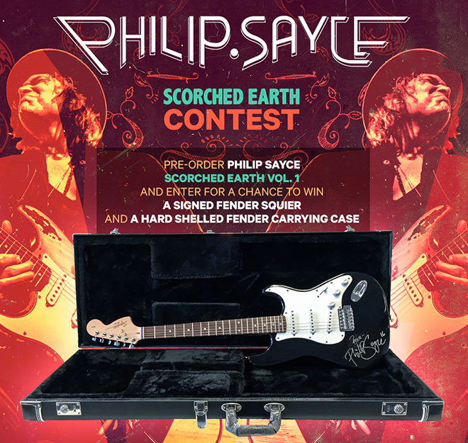 Philip Sayce Contest