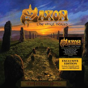 Saxon - The Vinyl Hoard