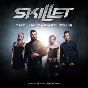 Skillet The Unleashed Tour